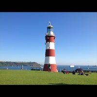 Photo taken at Plymouth Hoe by Rataporn on 7/22/2012