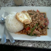 Photo taken at Thai House Express by Laura L. on 7/2/2012