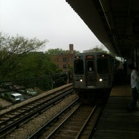 Photo taken at CTA - Jarvis by Travis B. on 5/4/2012