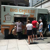Photo taken at Big Cheese Truck by Chloe B. on 8/1/2012