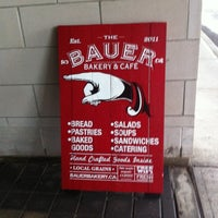 Photo taken at The Bauer Kitchen by Bill R. on 1/15/2012