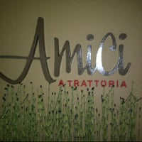 Photo taken at Amici A Trattoria by Dino H. on 5/20/2012