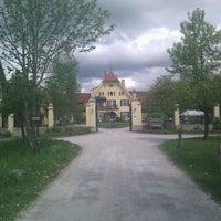 Photo taken at Gut Sonnenhausen by Florian L. on 5/5/2012