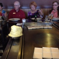 Photo taken at VKI Japanese Steakhouse by Gus G. on 2/16/2012