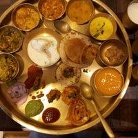 Photo taken at Maharaja Bhog by Snehsha T. on 6/23/2012
