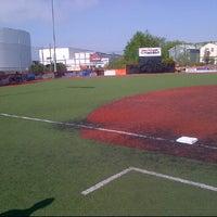 Photo taken at The Yard @ Cal Ripken Baseball Field by Christian on 4/21/2012