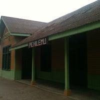 Photo taken at Estacion FF.CC. Pichilemu by Andres D. on 3/28/2012