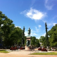 Photo taken at Esplanadin puisto by Niina R. on 6/16/2012