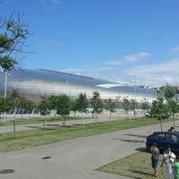 Photo taken at Palacio de los Deportes by Roberto S. on 7/8/2012