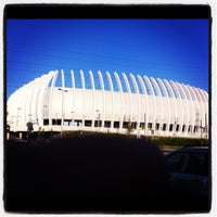 Photo taken at Arena Centar by Valentino R. on 7/8/2012