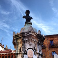 Photo taken at Plaza de Riego by Alejandro F. on 5/30/2012