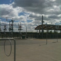 Photo taken at South Campus LRT Station by Amie on 5/19/2012