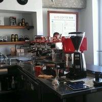 Photo taken at Elite Audio Coffee Bar by Holden K. on 5/4/2012