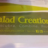 Photo taken at Salad Creations by Chris N. on 3/5/2012