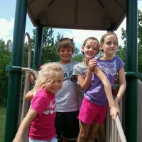 Photo taken at Swiss Valley Park by Chrissy B. on 8/10/2012