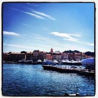 Photo taken at Port de Saint-Tropez by Charles C. on 5/26/2012