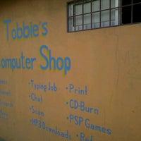 Photo taken at Tobbie's Computer Shop by Tobbie M. on 4/22/2012