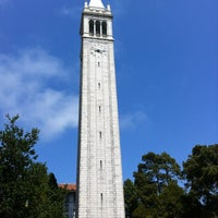 Photo taken at Campanile (Sather Tower) by Bill W. on 5/15/2012