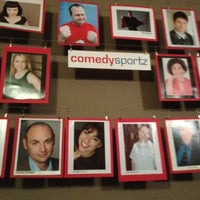 Photo taken at ComedySportz LA by Michael B. on 4/3/2012