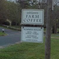 Photo taken at Ashlawn Farm Coffee by Carlee W. on 5/5/2012