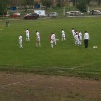 Photo taken at Metalik Stadium by Ivaylo S. on 4/27/2012