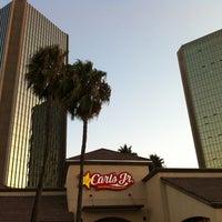Photo taken at Carl's Jr by Daniel C. on 8/20/2012