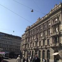 Photo taken at Paradeplatz by Mazen A. on 3/13/2012