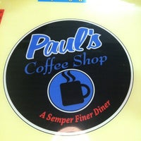 Photo taken at Paul's Coffee Shop by Terry M. on 6/15/2012