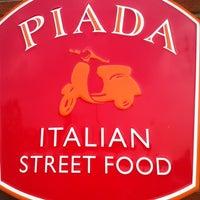 Photo taken at Piada Italian Street Food by B R. on 8/16/2012