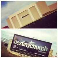 Photo taken at Destiny Church by Stacy on 7/29/2012