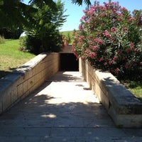 Photo taken at Vergina archaeological site by Ted L. on 6/19/2012