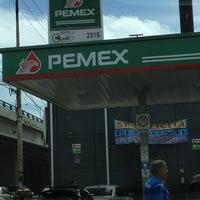 Photo taken at Pemex - Super Servicio Echegaray SA de CV by Cristopher R. on 2/18/2012