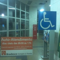Photo taken at Banco Bradesco by Diego L. on 6/15/2012