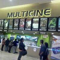 Photo taken at Multicine by Chefine C. on 2/25/2012