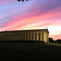 Photo taken at Centennial Park by Anna J. on 6/8/2012