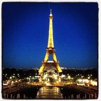 Photo prise au Jardins du Trocadéro par Andrey P. le8/18/2012