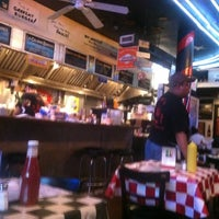 """Photo taken at Paul's """"Da Burger Joint"""" by Alex P. on 5/6/2012"""