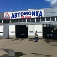 Photo taken at Мойка Авиагородок by Alexey D. on 4/30/2012