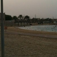 Photo taken at Al Nakheel Beach by هيووفة on 5/9/2012