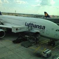 Photo taken at Lufthansa Senator Lounge C by Lukas L. on 8/9/2012