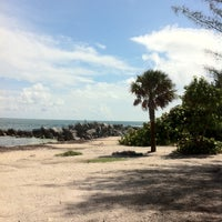 Photo taken at Fort Zachary Taylor State Park Beach by Lorne R. on 7/13/2012