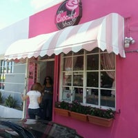 Photo taken at The Little Cupcake Shop by Juan P. on 8/31/2012