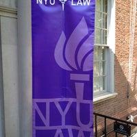 Photo taken at NYU Law | Vanderbilt Hall by David T. on 4/28/2012