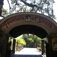 Photo taken at The Fountain Of Youth Archaeological Park by Renee B. on 8/24/2012