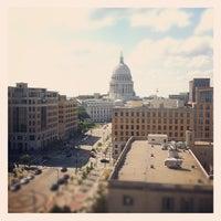 Photo taken at Hilton Madison Monona Terrace by Andy W. on 6/19/2012