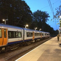 Photo taken at Hampstead Heath London Overground Station by Piotr Z. on 6/30/2012