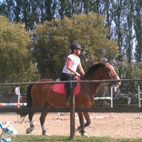 Photo taken at circolo ippico alessia jumping team by Andrea G. on 9/7/2012