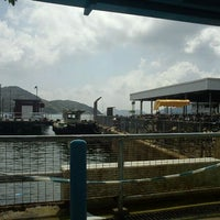 Photo taken at Mui Wo Ferry Pier 梅窩渡輪碼頭 by May L. on 5/8/2012