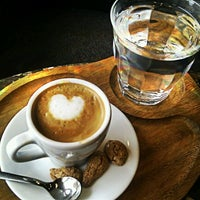 Photo taken at Green Caffè Nero by Just S. on 7/14/2012