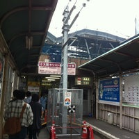 Photo taken at Tennojiekimae Station by kazunori o. on 5/3/2012